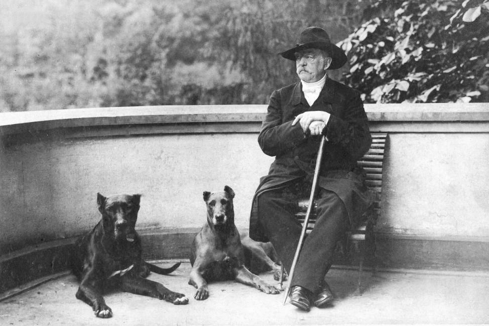 Otto von Bismarck in Friedrichsruh