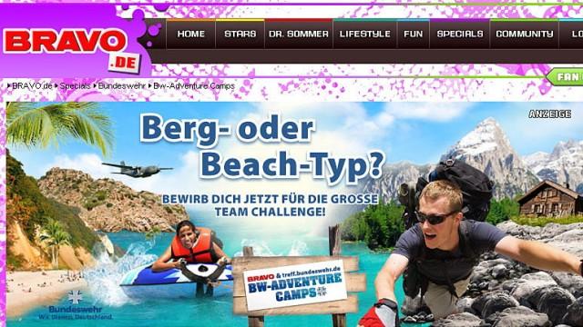 Bravo Bundeswehr-Adventure-Camps