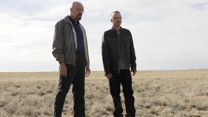 """Die US-Serie """"Breaking Bad"""" mit Bryan Cranston und Aaron Paul"""