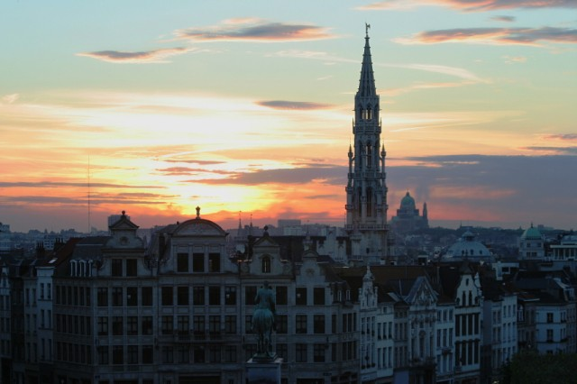 Mitten in ... Brüssel