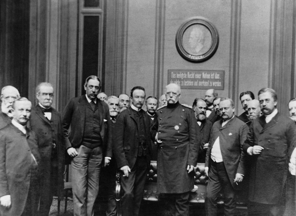 Otto von Bismarck, 1889