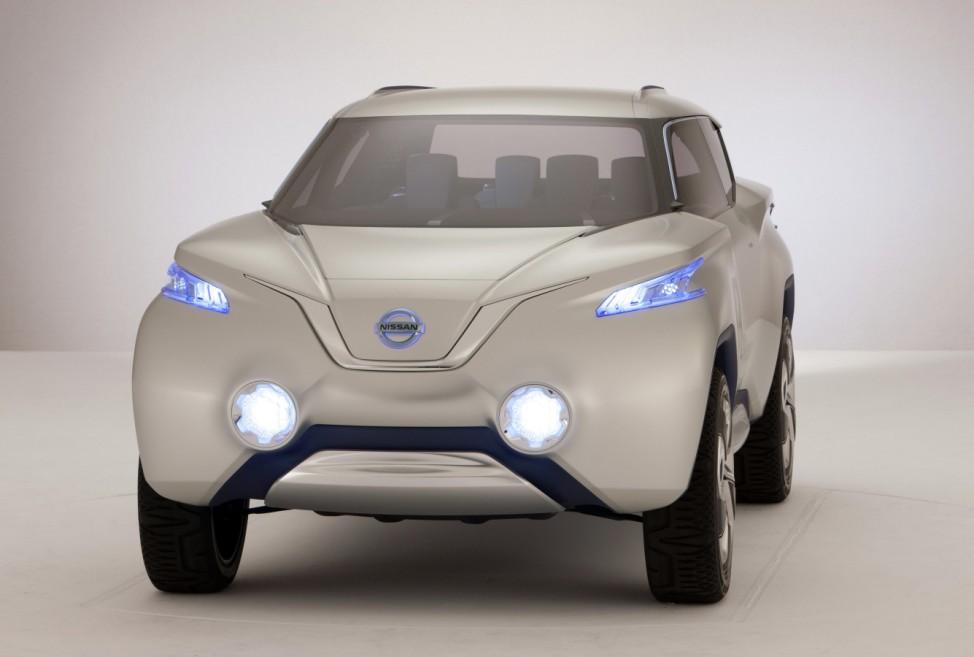 Nissan Terra:Kleine SUV-Studie mit Brennstoffzelle