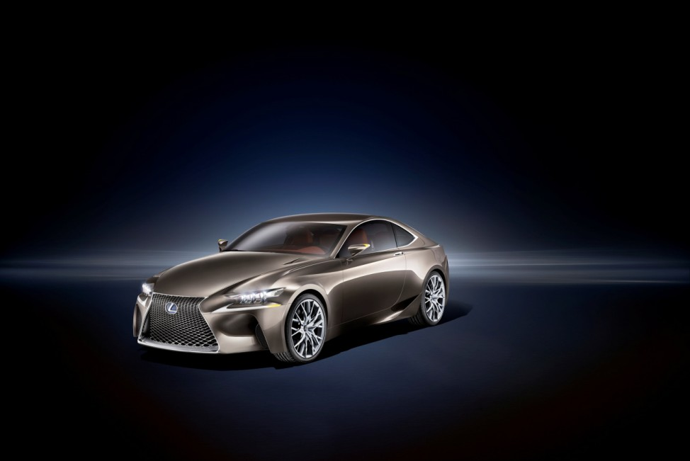 Lexus-Studie gibt Vorgeschmack auf Mittelklasse-Coupé