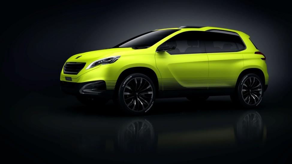 Kleines SUV könnte bald Peugeots 208-Familie ergänzen