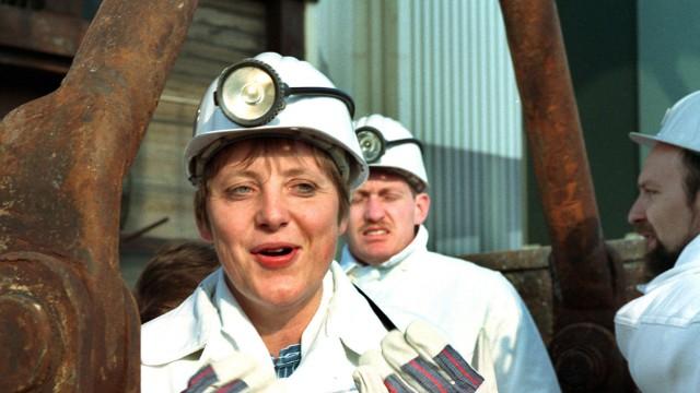 Angela Merkel in Gorleben 1995