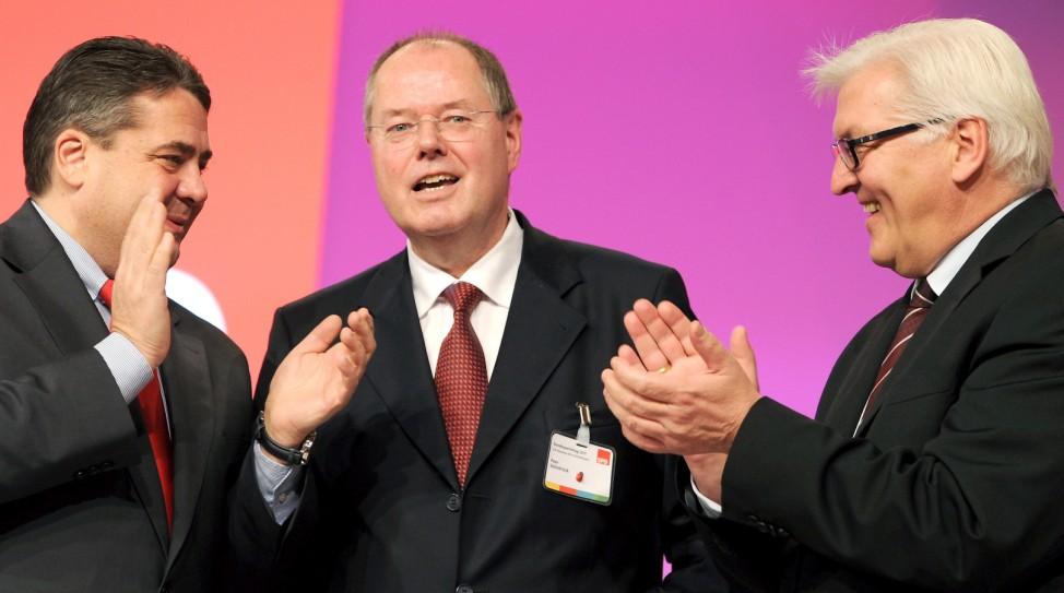 Steinbrück wird SPD Kanzlerkandidat
