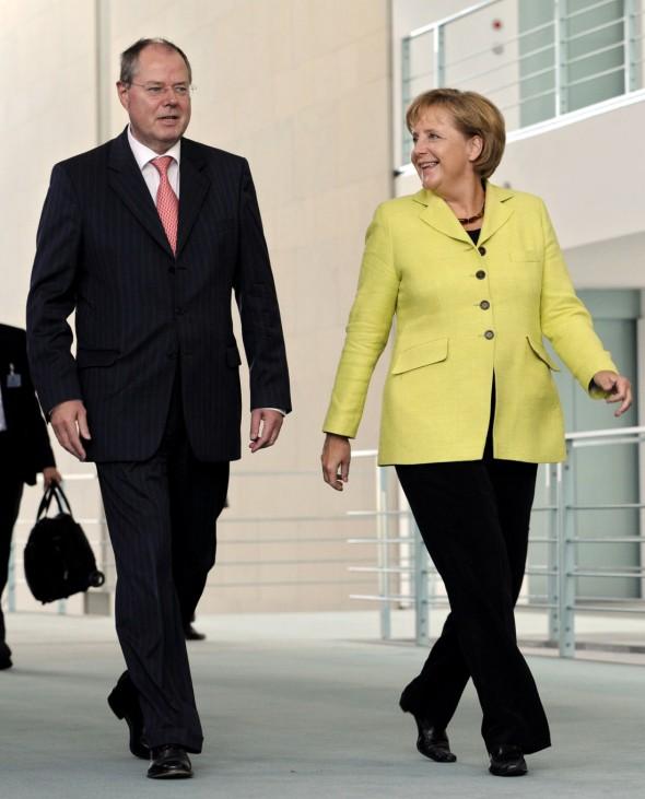 Pk Merkel Steinbrück