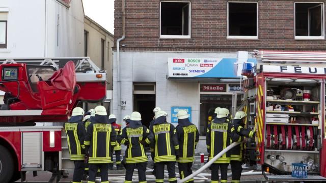 Mehr als 30 Verletzte bei Bränden in Bremen - Tatverdächtiger festgenommen