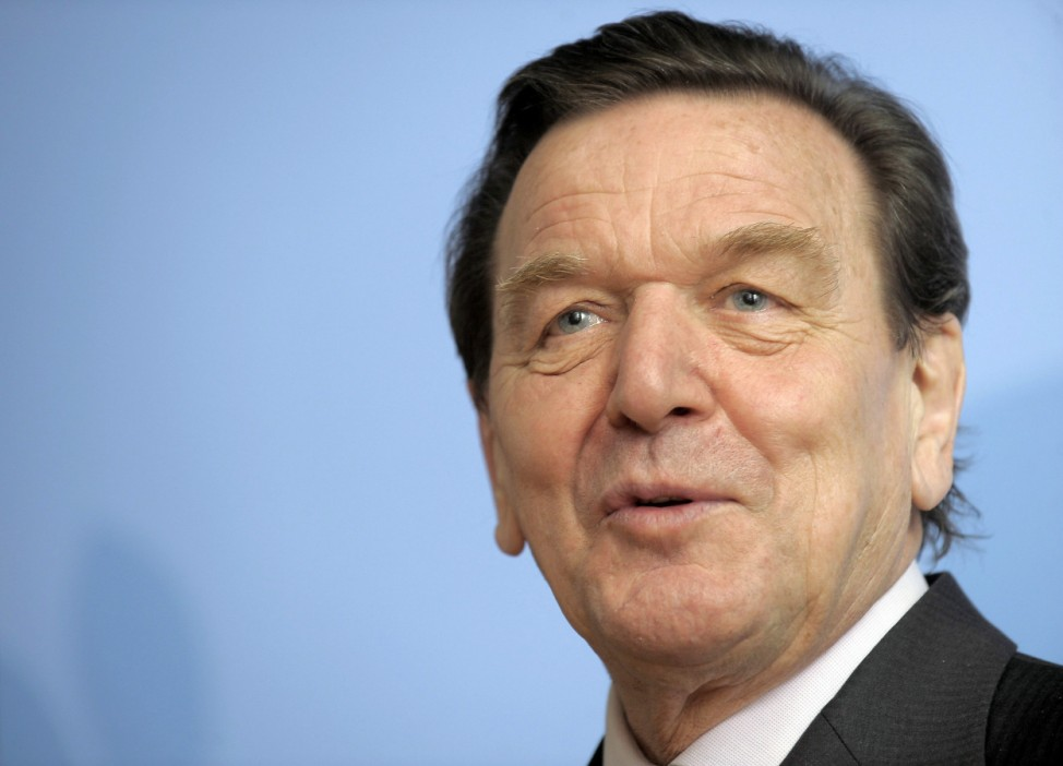 Alt-Bundeskanzler Schröder lobt Steinbrück als gute Wahl