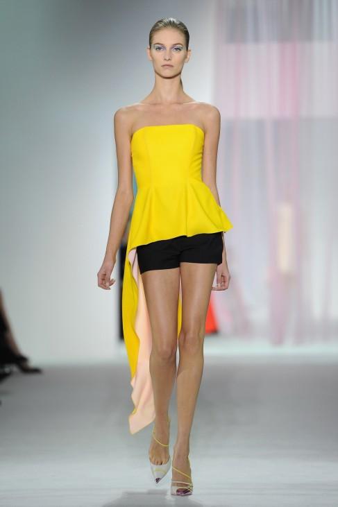 Modetrend Schößchen, Christian Dior: Runway - Paris Fashion Week Womenswear Spring / Summer 2013