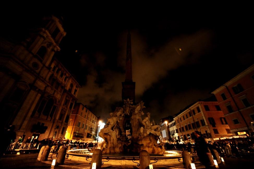 Italien Sehenswürdigkeiten Verbot Rom Piazza Navona