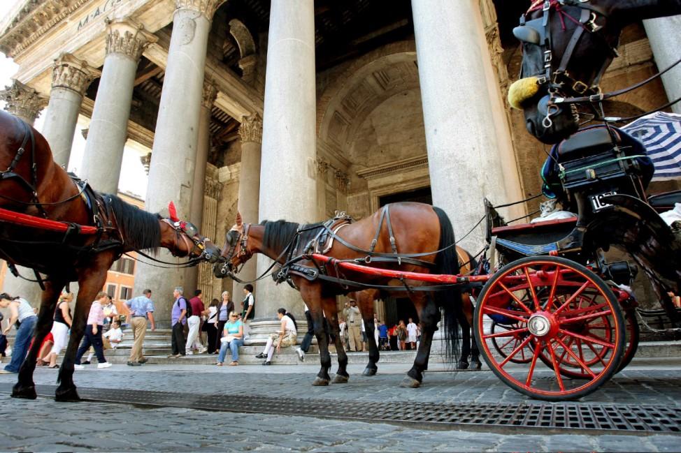 Italien Sehenswürdigkeiten Verbot Rom Pantheon