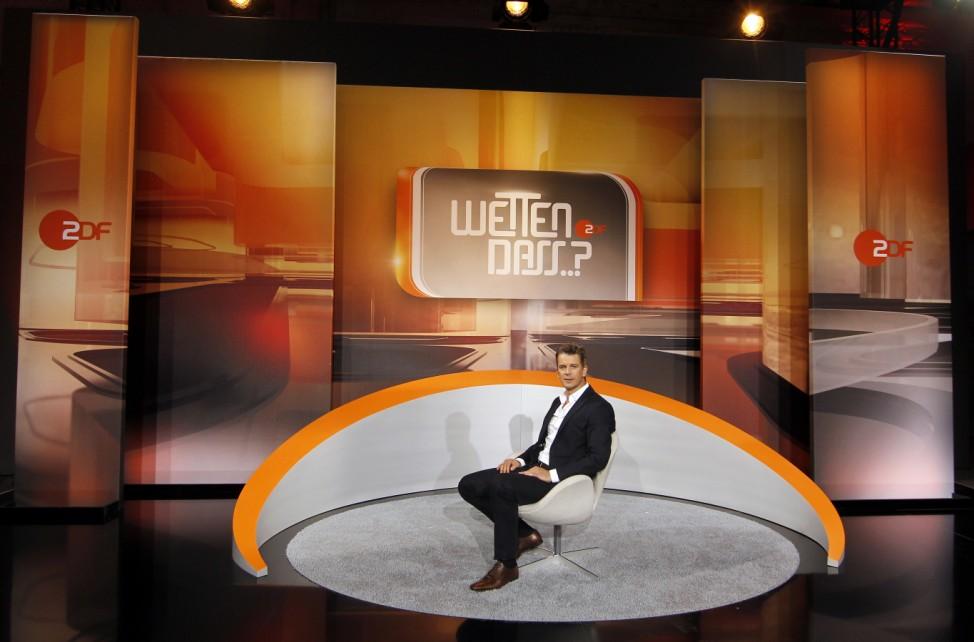 ZDF praesentiert neues Konzept von 'Wetten, dass..?'