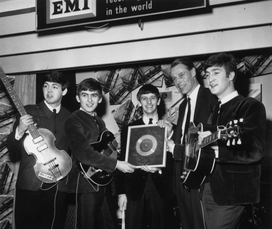 FILE PHOTO:  European Commission Clears EMI-Universal Deal Silver For Beatles