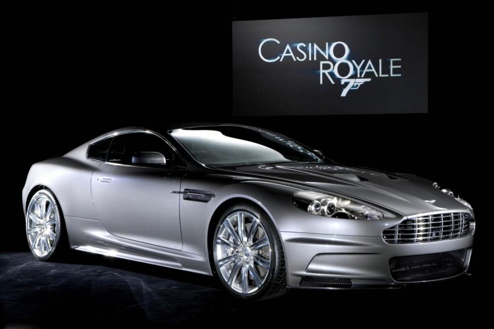 Aston Martin DBS V12 aus James Bond: Casino Royale