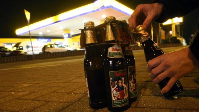 Alkohol-Testkäufe