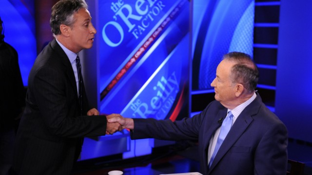 Jon Stewart, Bill O'Reilly