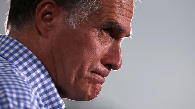 Mitt Romney Campaigns In Florida And Virginia