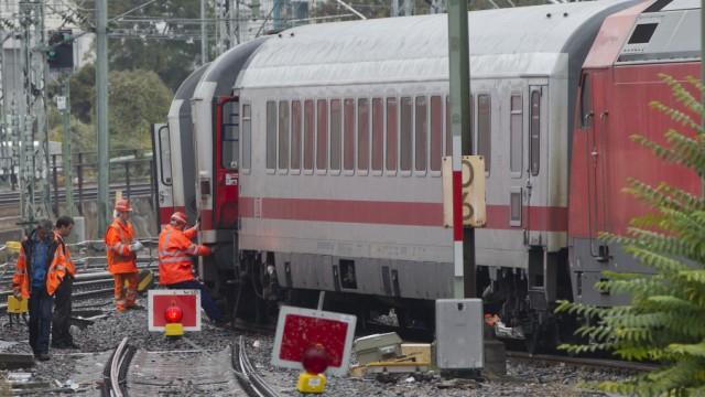 Erneut Zug am Stuttgarter Hauptbahnhof entgleist