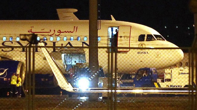 Turkish air force forces Syria passenger plane to land