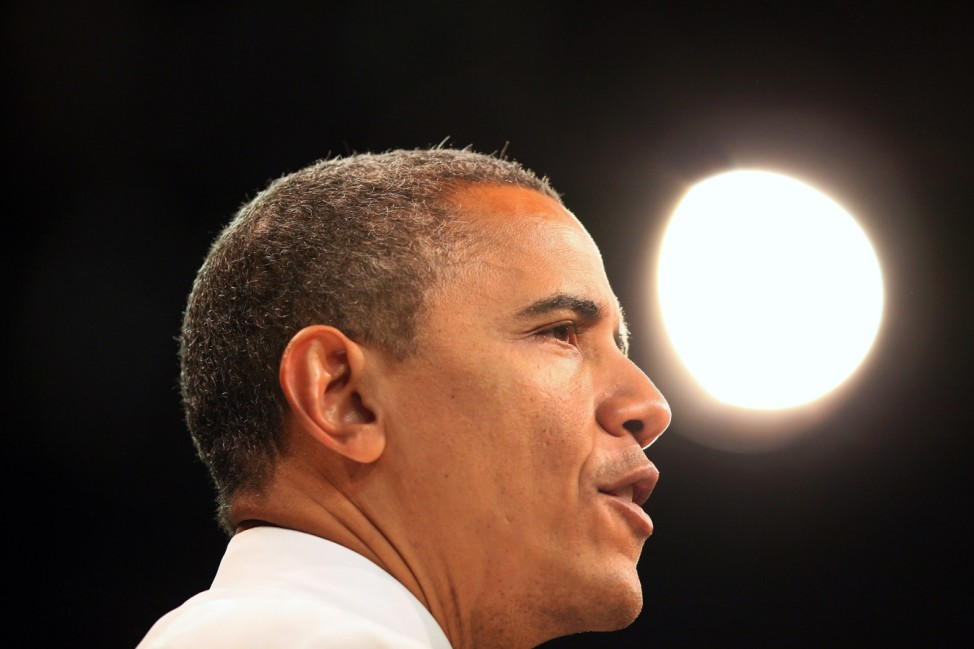 President Obama Holds Campaign Event At University At Miami