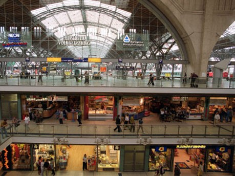 Hauptbahnhof Leipzig, dpa