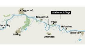 Grafik zum Donauausbau
