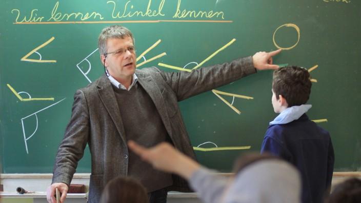 Johannes Lell in der Parzivalschule in München, 2011