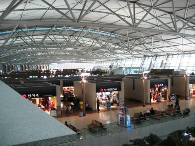 Übernachten Terminal Flughafen Seoul Incheon Rangliste