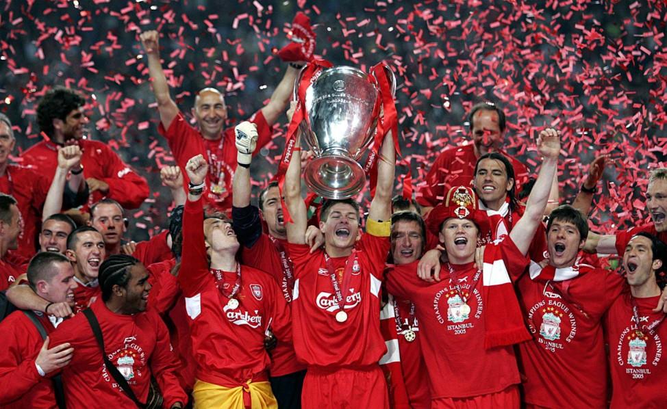 Champions League Finale 2005 - Sieger FC Liverpool