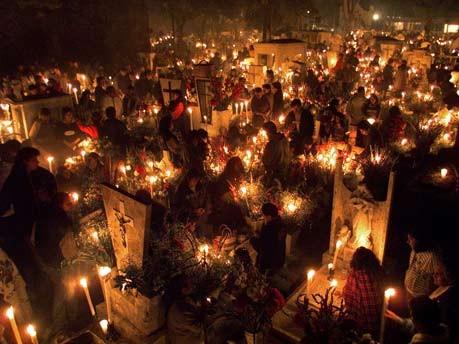 El dia de los muertos, Tag der Toten in Mexiko, Allerheiligen, Allerseelen