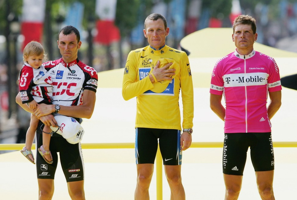 FILE: UCI Bans Lance Armstrong For Life And Strips Him of Seven Tour de France Titles