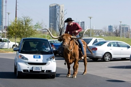 Car2go in Texas