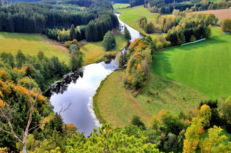 Leser-Foto Herbst Deutschland Frankenwald Joditz Saaletal