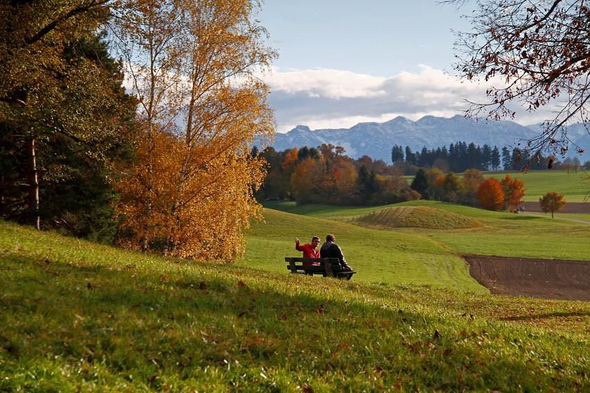 Leser-Foto Herbst Deutschland Weilheim Oberbayern