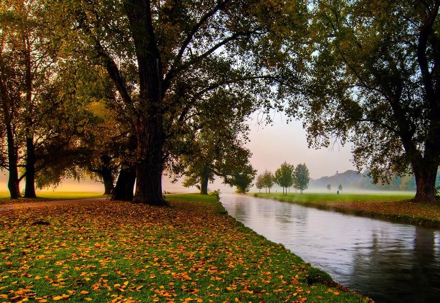Leser-Foto Herbst Deutschland Englischer Garten München