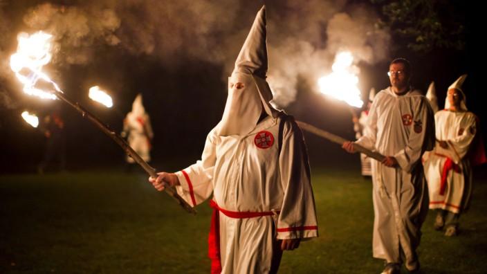 Klu-Klux-Klan-Mitglieder in Virginia