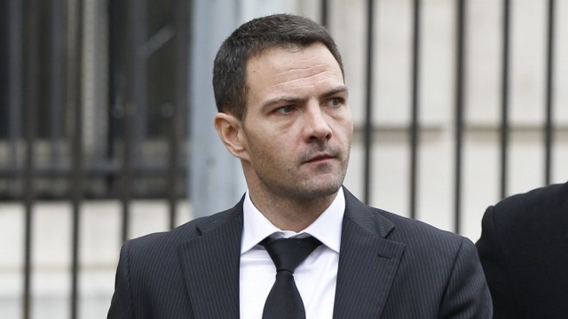 Former Societe Generale trader Kerviel arrives at the Paris court for the verdict in his appeal trial