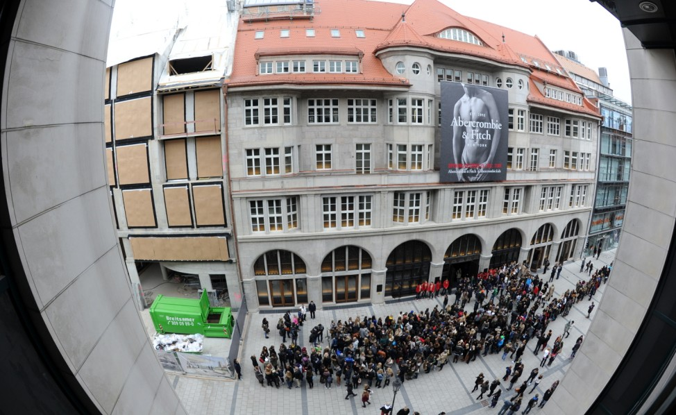 Abercrombie & Fitch Open Munich Flagship Store