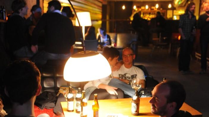 Club Milla im Glockenbachviertel in der Holzstraße in München