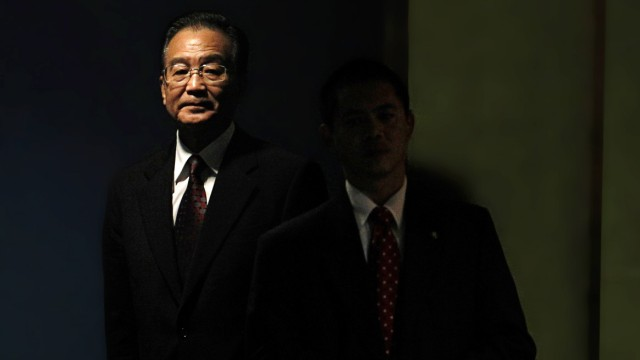 File photo of China's Premier Wen Jiabao arriving to speak during the Millennium Development Goals Summit at U.N. headquarters in New York