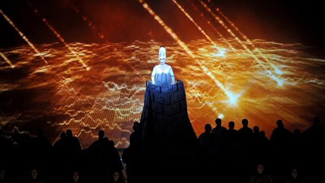 Fotoprobe 'Babylon' in der Bayerischen Staatsoper München