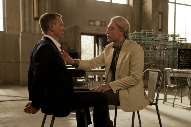 "Daniel Craig und Javier Bardem in ""Skyfall"""