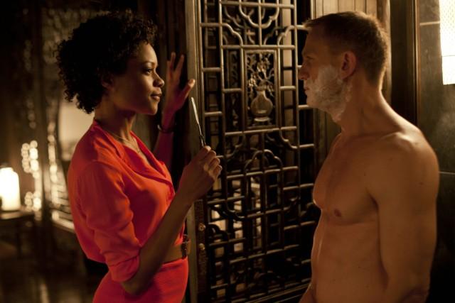"""Naomie Harris und Daniel Craig in """"Skyfall"""""""