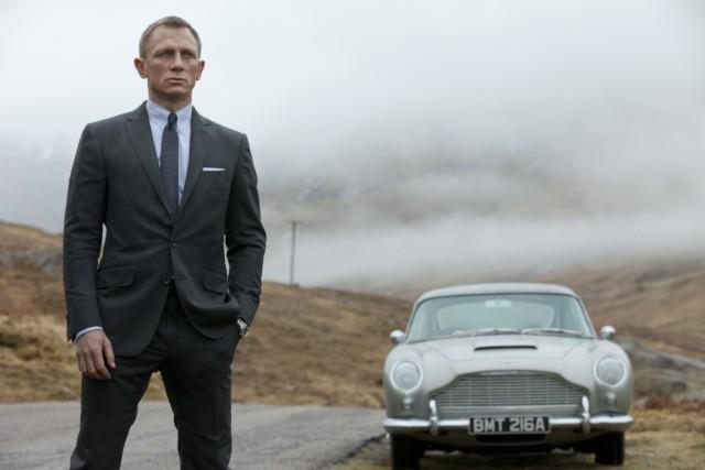 "Daniel Craig als James Bond in ""Skyfall"""