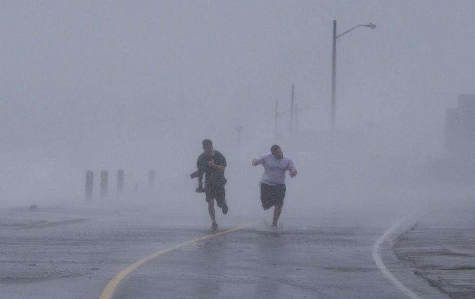 Hurrikan Sandy in Marshfield, Massachusetts