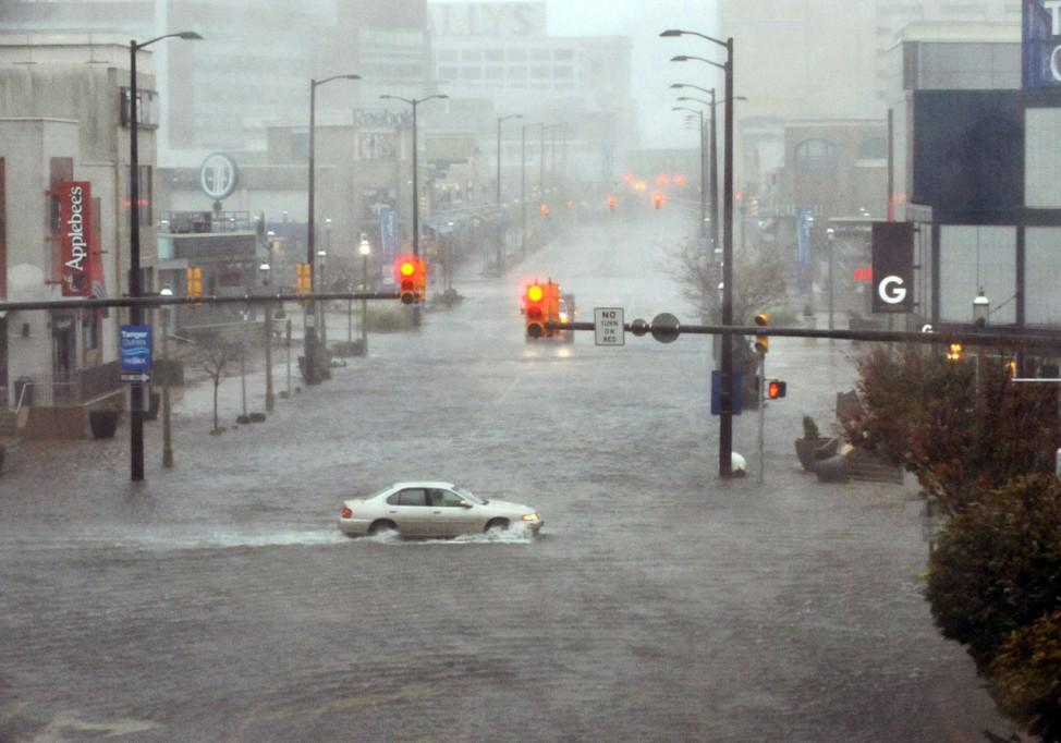 Hurrikan Sandy: Freie Fahrt