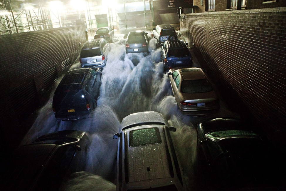 Mid Atlantic Coast Prepares For Hurricane Sandy