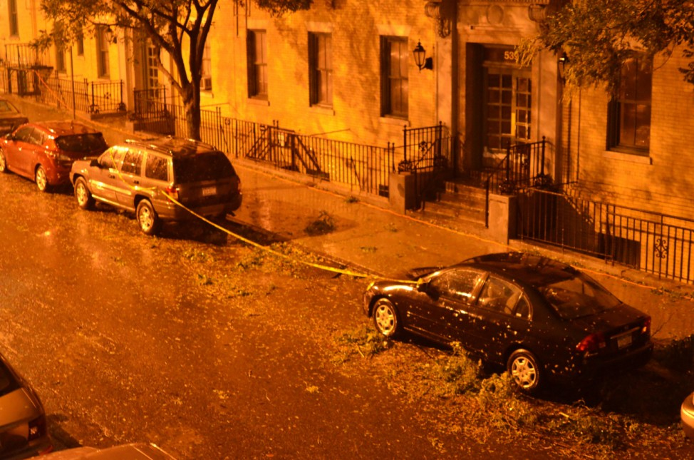 Wirbelsturm 'Sandy' in New York