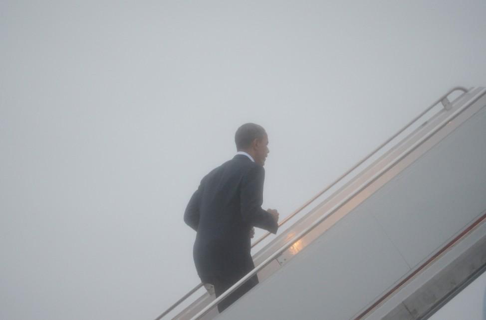 Barack Obama Sturm Sandy